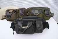 free shipping New arrival 2013 Men canvas waist pack fashion shoulder bag outside sport casual chest pack