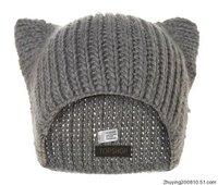 2013 Ms. Korean version of the new winter line of handmade wool warm hat Orecchiette (freeshipping)