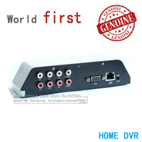 Free shipping Russian CCTV DVR 4CH MINI Household home USB Mobile Hard disk 1 D1 H.264 Car Phone monitoring English Multilingual