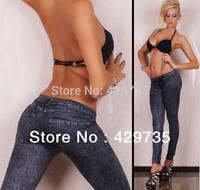 2014 New arrival Women's Snowflakes Print Fashion Leggings Stretchy Skinny Leg Pants Jeggings Cheap price