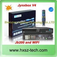 Jynxbox Ultra HD V4+ TV Receiver FREE JB200 8PSK Module& with wifi antenna