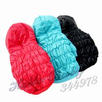 Free Shipping Pet Dog Clothes Clothing Puppy Apparel Down Jacket Winter Coat 3 Colors