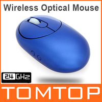 Компьютерная мышка 2.4G Wireless USB Mouse Mice for Laptop Computer Black Blue Optional for Computer Peripherals