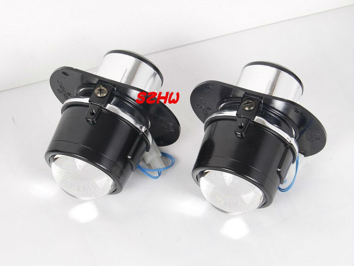 car bifocal lens fog lamp Front bumper lights bifocal lens assembly case for Mercedes Benz C