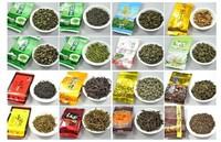 Super Popular 20 Different Flavor Famous Tea(cha) Chinese Tea(Ginsen oolong,TieGuangYin,Milk oolong,Dahongpao) FREE SHIPPING