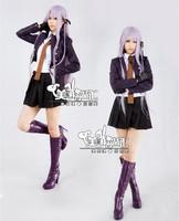 Dangan-Ronpa Kirigiri Kyoko cosplay woman's costume danganronpa Japanese uniforms for girl free free shipping