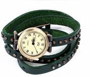 2pcs/lot Free Shipping  Luxury Ladies Vintage Wristwatches For Women Gift Fashion Clock Designer Leather Quartz Wrist Watch 5317