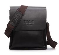 2014 New Arrived genuine leather men messenger bag fashion brand  men business bags  B11