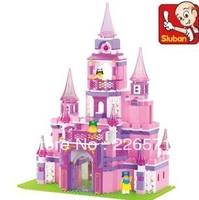 Enlighten Child M38-B0151 Education Dream Castle 508 pcs Compatible With Lego Assembles Particles Block Toys