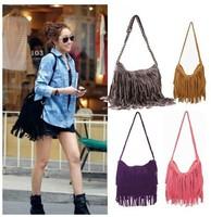 Wholesale Hot Selling Messenger Bags Fashion Women's TASSEL Crossbody PU Shoulder Envelope Bag Free Shipping B13004