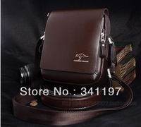 Kangaroo man bag boutique bag man bag shoulder bag male Korean tide satchel leisure business.