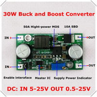 DC-DC Adjustable Step-Up and step-down Power Supply Module boost and buck voltage converter LM2596&LM2577 5-25V [ 3pcs/lot]