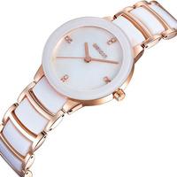 Free shipping 2013 new women stainless watch for women wenqin brand wristwatch luxury quartz dress watch top quality EMSX9005