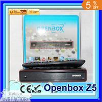 10pcs Original Openbox Z5 HD full 1080p Satellite Receiver X5 update model support Youtube Google Maps Weather CCcam Newcam