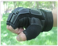Free Shipping half finger gloves military fans commando / Tactical gloves  outdoor field gloves / riding skid
