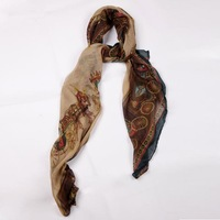 Fall and Winter Women Lady Long Paragraph Gaze De Paris Scarves Scarf Shawl
