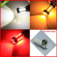 Free Shipping 2PCS/Lot High power  H16 80w CREE T10 7440  7443  reverse  turn Car LED light