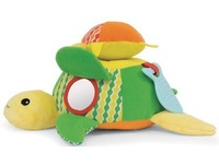 SKP Ocean Pals baby soft Hug and Hide Activity Toy with retail box - the turtle