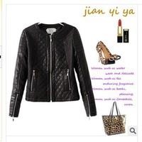 Женская одежда из кожи и замши Brand new jaquetas couro