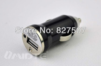 Free shipping 2pcs/lot  Micro USB Car Charger Mini Car Charger Adapter for kinds of Cell phone iPhone 4S 5 5S iPad iPod PDA MP4