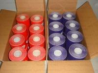 5cmx5m free shipping 2 rolls /lot kinesiology kinesio tex tape cotton elastic adhesive muscle sports bandage Curetape/latex free