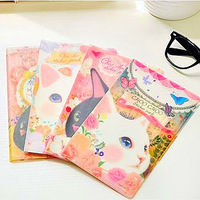 Free shipping Korean Stationery Jetoy choo choo cat notebook / dairy / 4 patterns to choose