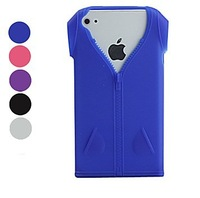 Protective Fashionable Clothes Pattern Soft TPU Phone Case for iPhone 4 / 4S free shipping