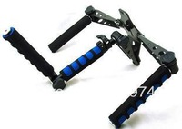 Free shipping DSLR Rig Shoulder Mount Stabilizer for DV Camera Camcorder Canon 5D Mark II Movie Kit DUAL Hand