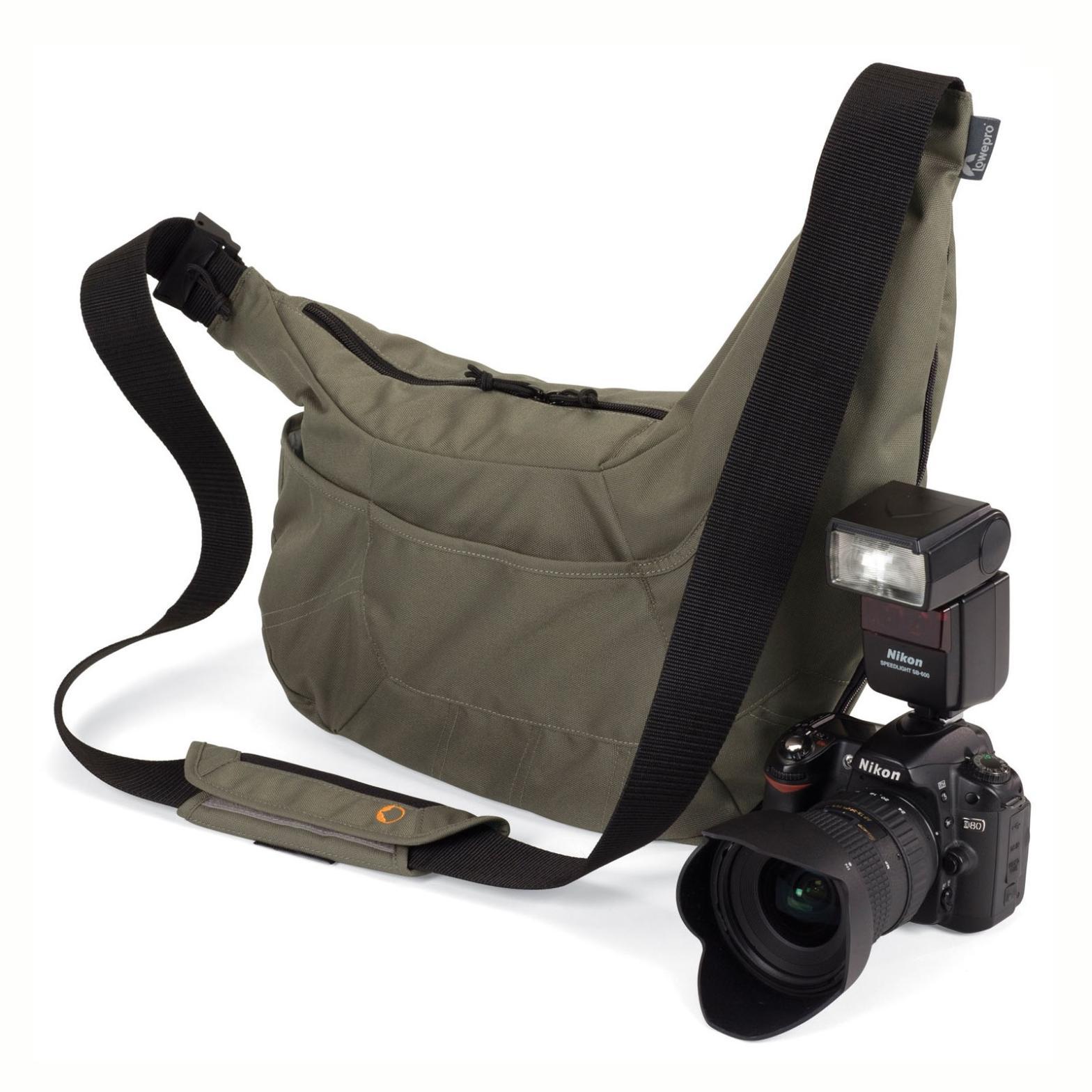 Gray Waterproof Genuine Lowepro Po the Passport Sling PS DSLR SLR Camera Bag Travel Shoulder Camera Bag for Canon Nikon Sony(China (Mainland))