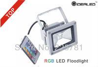 RGB LED Floodlight AC85-265V COB LED Landscape Lighting free shipping proyector de la MAZORCA de iluminacion de envio libre