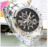 2014 Men's quartz Wristwatches Fashion Steel men sports watches ORIANDO full steel watch