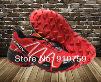 free shipping Hot Sale 2013 new Salomon 3 Men run Running Shoes Casual sports outdoor Fashion classic men Athletic Shoes brand