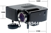 Free shipping!!!LED Digital 320x240 Video Projector With Remote Controller Support AV/USB/SD/VGA HDMI