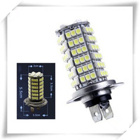 free shipping 2pcs Car Auto 120 LED 12V SMD 3528 H7 Fog Light Head Light Lamp Bulb White Color