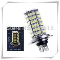 free shipping 2pcs Car Auto 120 LED 12V SMD 3528 H7 Fog Light Head Light Lamp Bulb White Color