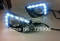Free shipping High Quality 2013 LED DRL for Toyota Prado led daytime running light high light