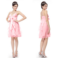 HE26109 Ever Pretty Free Shipping Cute Ruffle Girl's Homecoming Dress