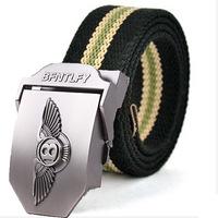 Top quality Men Brand Canvas Belts High Quality Male Strap Military Belt Men's tTicken Canvas Belt Automatic wholesale