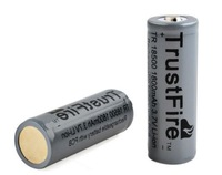TrustFire 3.7V 1800mAh Li-ion 18500 Protected T Rechargeable  Battery with PCB board /18500 battery / 18500 lithium battery