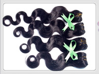 "Free DHL,Upss Queen hair Brazilian remy human hair body wave 12""to 28"" 4pcs/lot  70g/pc Natural Color"