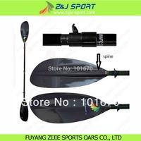 Detachable Adjustable Carbon  Sea Kayak Paddle
