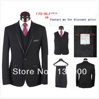2013 new style men's fashion suits business suits brand AB high quality two pieces coat+pants
