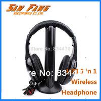 Casque Audio Wireless Headphone Headset Stero 5 in 1 Net Chat FM Radio HIFI Earphone Auriculares Free Shipping