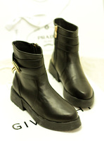 2013 new autumn and winter platform buckle brief british Leisure style boots rivet motorcycle women boots