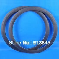 In Stock!Customzied Logo Carbon bicycle Tubular  Wheelset rims, 50mm 700c  track Bicycle Wheelset rims_Free Shipping