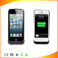 New arrival golden quality 2200mAh External Backup Battery Charger Case For iphone 5 5C in 2013