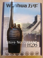 Free Shipping Wanhua H26 Mini two-way radio 403-470MHz UHF,portable Transceiver,Walkie Talkie,amateur/ham radio,uhf