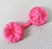 Wholesale(2pcs/lot) Soft  silicone Fondant  Mold Cake Decoration mold Five Leaf Flower Shape Baking Mold