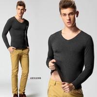 HOT Men's wear LONG man long-sleeved's t-shirt Brand NC shirt cotton 3d t shirt for men tshirt famous plus big size s-4xl free