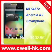 new 2013 H3039 MTK6572 Android 4.2 Smartphone Dual Core 1.2GHz GPS 4.0 Inch IPS Screen with Super Price